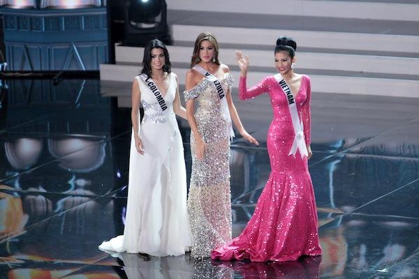 Trương Thị May tự tin tỏa sáng vòng Bán kết Miss Universe 2013 9