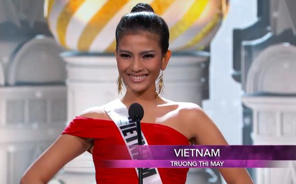 Trương Thị May tự tin tỏa sáng vòng Bán kết Miss Universe 2013 11