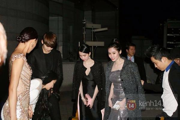 Update: Phía Ngọc Trinh Tung Ảnh Khẳng Định Không Photoshop Với Kim Woo Bin  1
