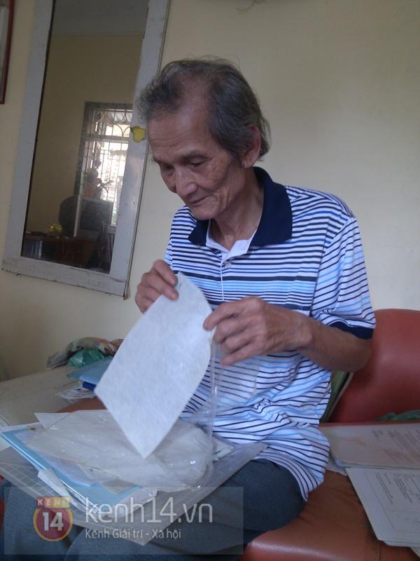 """Gặp ông già 80 tuổi có """"phép thuật"""" biến rơm thành giấy 6"""