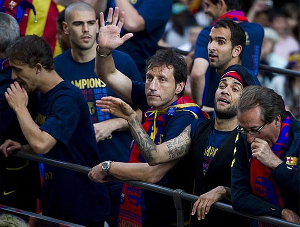 Cận cảnh buổi lễ ăn mừng hoành tráng của Barcelona 15