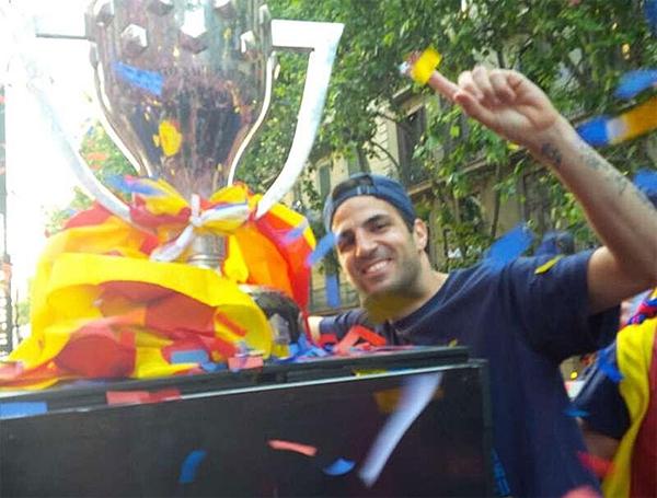 Cận cảnh buổi lễ ăn mừng hoành tráng của Barcelona 16