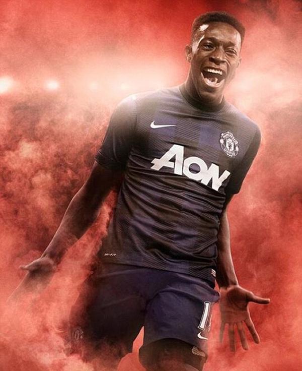 Hé lộ mẫu áo sân khách của Manchester United 1