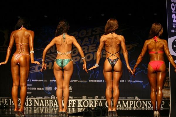 """Lạ mắt cuộc thi hoa hậu """"cơ bắp"""" tại Hàn Quốc 10"""