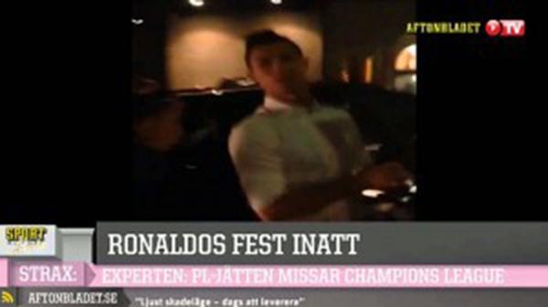 Tức giận vì bị bám đuôi, Ronaldo chửi thề trước các phóng viên 2