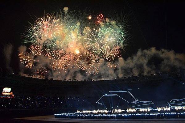 """SEA Games 27 khép lại với lễ bế mạc """"triệu đô"""" 8"""