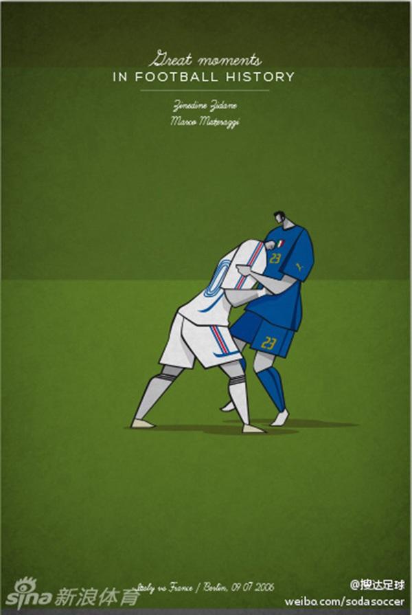 """Ấn tượng với bộ tranh lịch sử bóng đá theo """"phong cách"""" hoạt hình 10"""