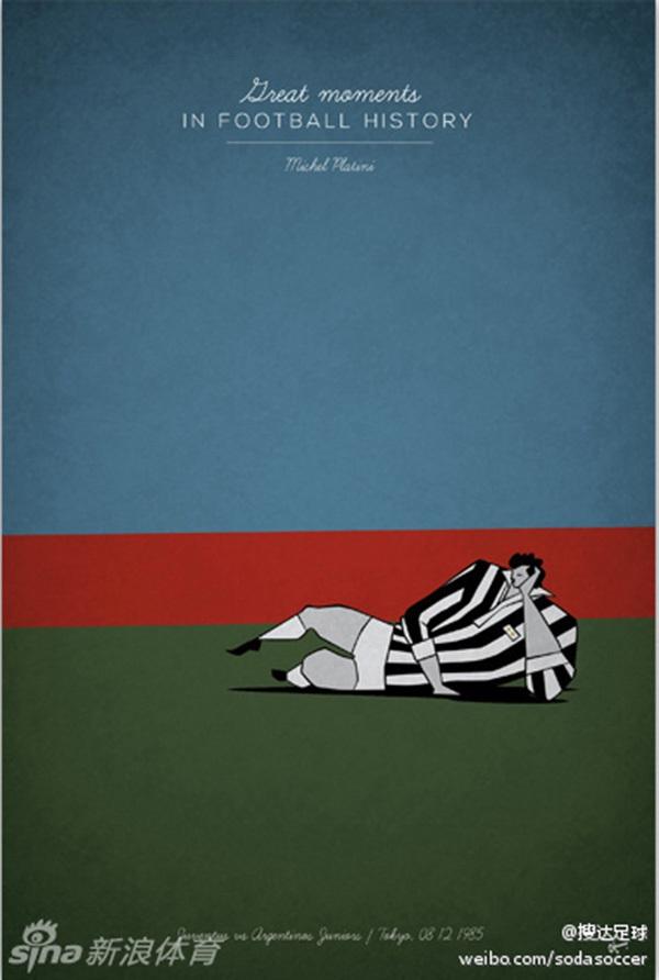 """Ấn tượng với bộ tranh lịch sử bóng đá theo """"phong cách"""" hoạt hình 4"""