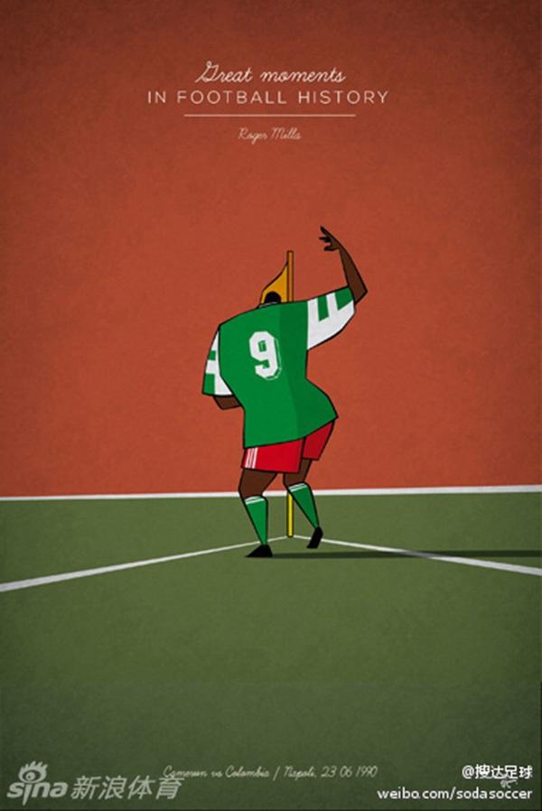 """Ấn tượng với bộ tranh lịch sử bóng đá theo """"phong cách"""" hoạt hình 6"""