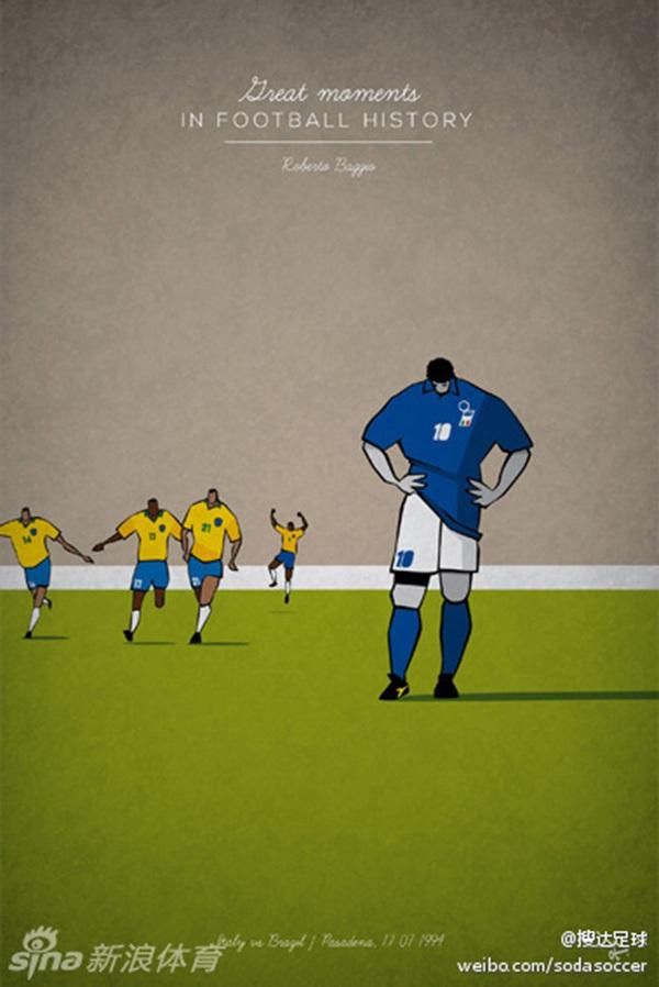"""Ấn tượng với bộ tranh lịch sử bóng đá theo """"phong cách"""" hoạt hình 7"""