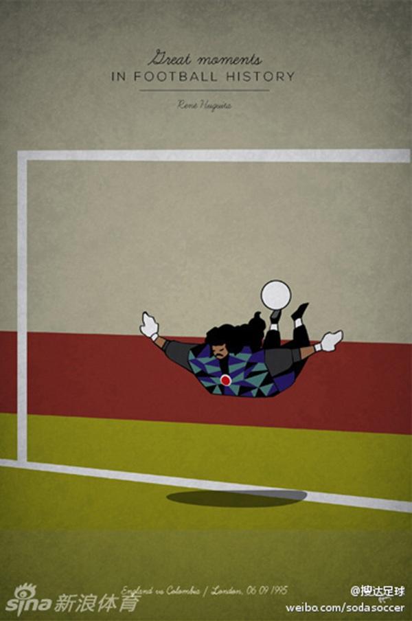 """Ấn tượng với bộ tranh lịch sử bóng đá theo """"phong cách"""" hoạt hình 9"""