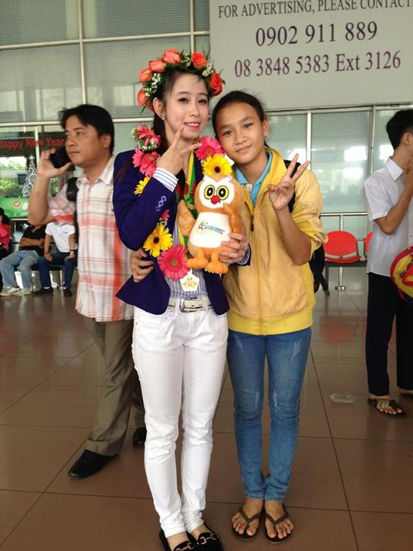 Hot girl Taekwondo Châu Tuyết Vân khoe loạt ảnh rạng rỡ ngày trở về 11