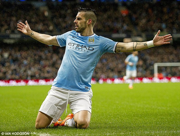 LEAGUE CUP Man City 6-0 West Ham: Song sát Negredo – Dzeko 1