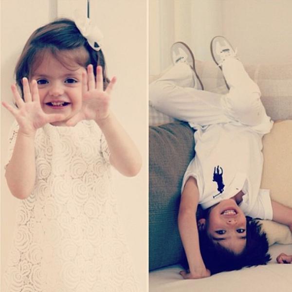 """""""Thiên thần"""" Kaka khoe khoảnh khắc tình cảm với cô con gái dễ thương 7"""