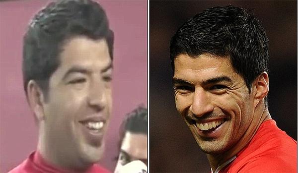 """Ngỡ ngàng với fan Liverpool giống """"y đúc"""" Suarez 1"""