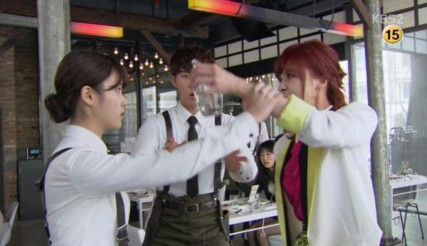 Soon Shin (IU) suýt ẩu đả với em gái người yêu 2