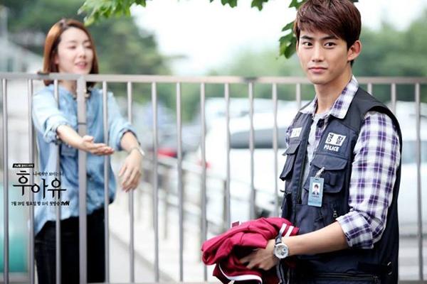 """Taecyeon (2PM) đọ tài bắn súng cùng """"tình địch"""" 5"""