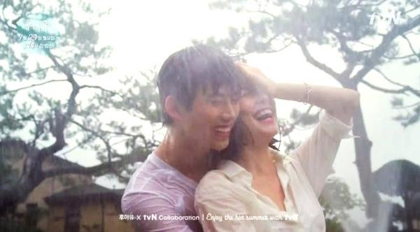 Nụ hôn lãng mạn dưới mưa của bộ đôi cảnh sát 6