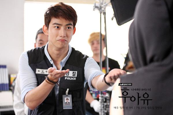 """Taecyeon (2PM) đọ tài bắn súng cùng """"tình địch"""" 6"""