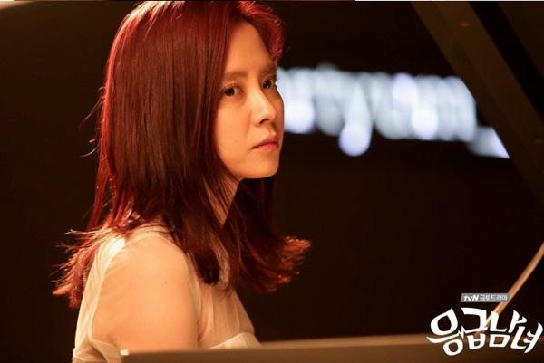 Song Ji Hyo đẹp dịu dàng bên phím đàn 2