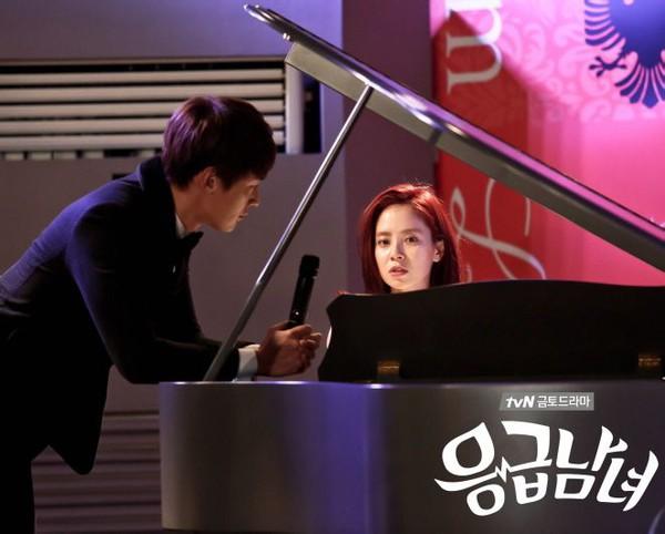 Song Ji Hyo đẹp dịu dàng bên phím đàn 4