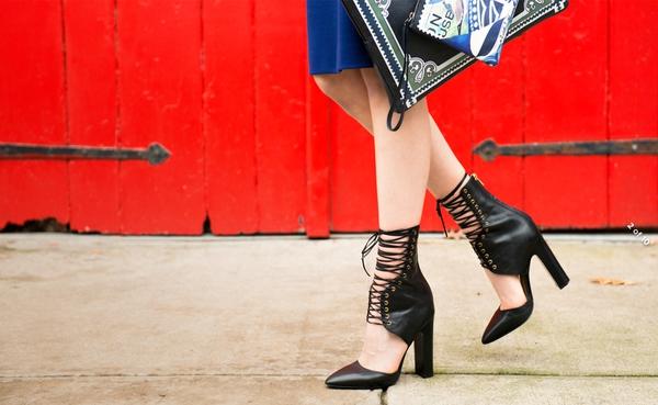 Mua giày cao gót ưng ý