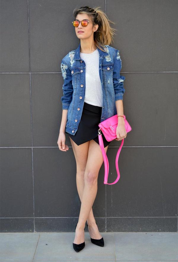 """Skort - Chiếc quần """"tràn ngập"""" street style thế giới Hè 2013 19"""