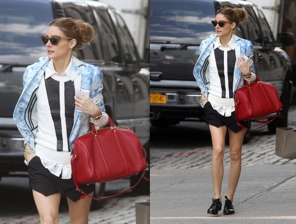 """Skort - Chiếc quần """"tràn ngập"""" street style thế giới Hè 2013 12"""