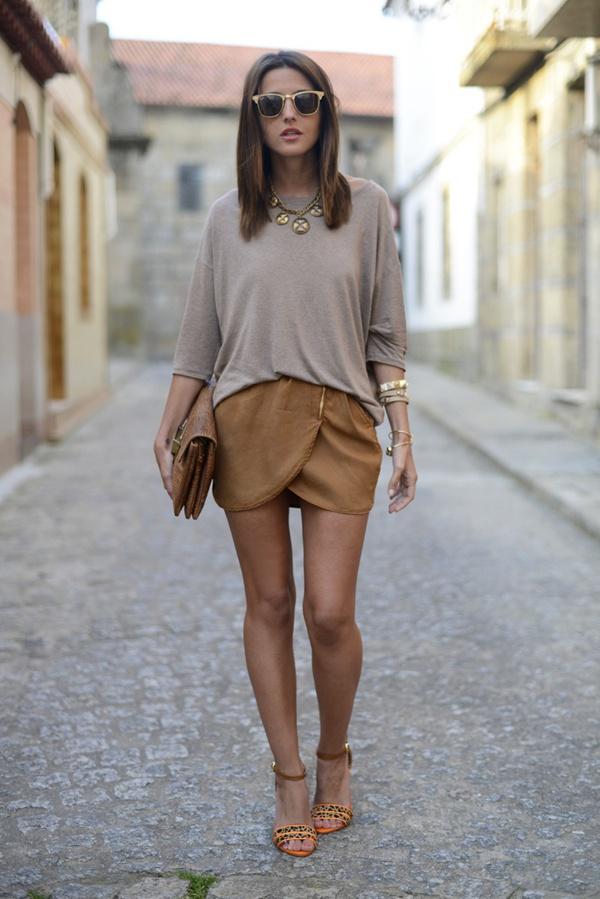"""Skort - Chiếc quần """"tràn ngập"""" street style thế giới Hè 2013 8"""
