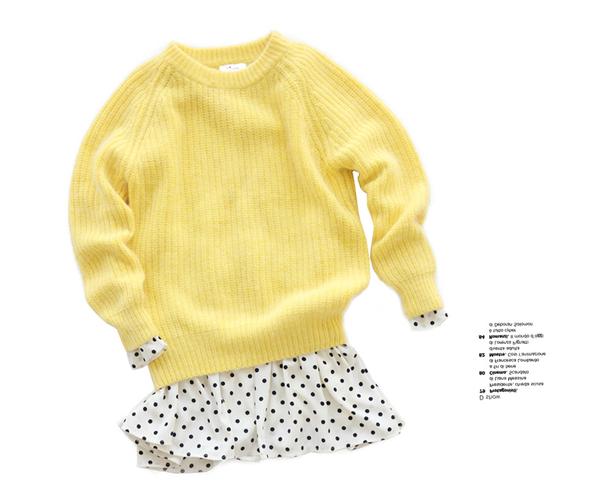 Xinh xắn ngày giao mùa với những cách mix áo len cổ tròn trendy 1