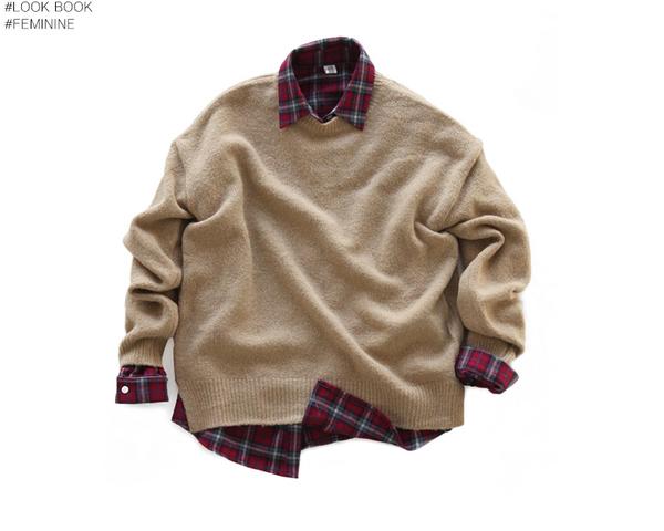 Xinh xắn ngày giao mùa với những cách mix áo len cổ tròn trendy 2