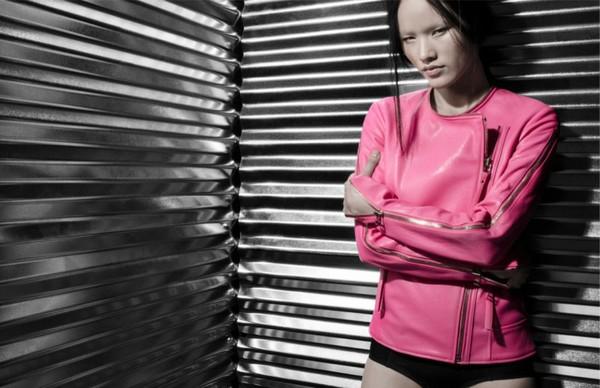 Tuyết Lan làm mẫu cho bộ ảnh quảng bá của thương hiệu nước ngoài 5