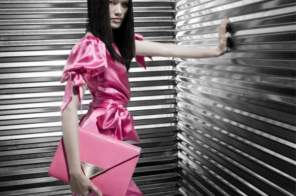 Tuyết Lan làm mẫu cho bộ ảnh quảng bá của thương hiệu nước ngoài 11