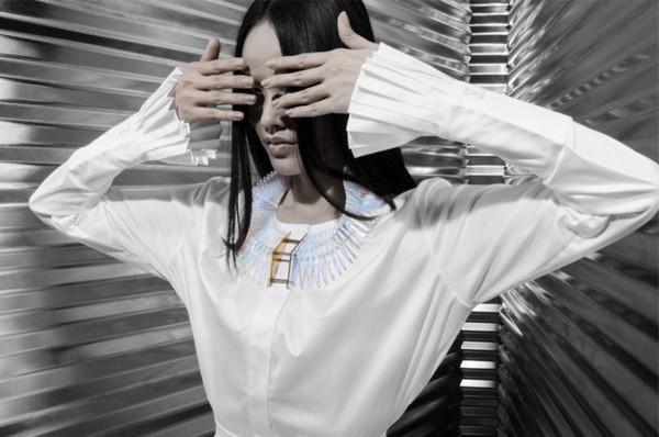 Tuyết Lan làm mẫu cho bộ ảnh quảng bá của thương hiệu nước ngoài 3