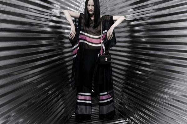 Tuyết Lan làm mẫu cho bộ ảnh quảng bá của thương hiệu nước ngoài 13