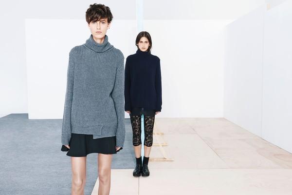 """Mặc xinh ngày se lạnh với """"bộ đôi"""" áo len - chân váy xòe  2"""