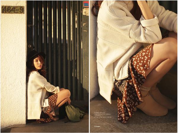 """Mặc xinh ngày se lạnh với """"bộ đôi"""" áo len - chân váy xòe  10"""