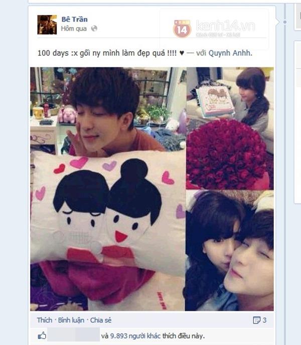 Quỳnh Anh Shyn lần đầu tiên xác nhận yêu Bê Trần 1