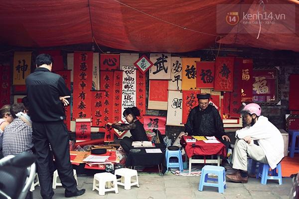 An Japan, Khả Ngân dạo phố đầu xuân, xin chữ ông đồ 15