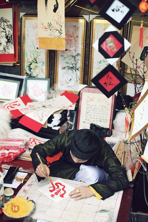 An Japan, Khả Ngân dạo phố đầu xuân, xin chữ ông đồ 18