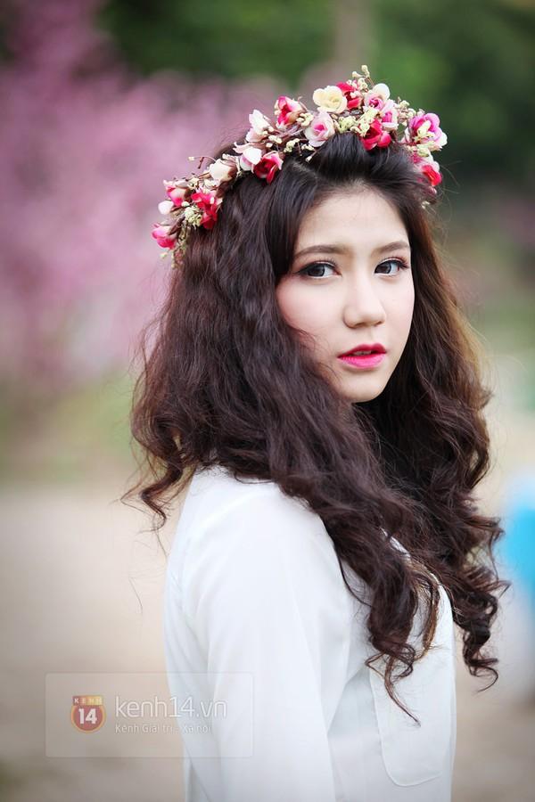 Ngỡ ngàng hot girl Việt giản dị mà cực dễ thương khi mặc quân phục 13