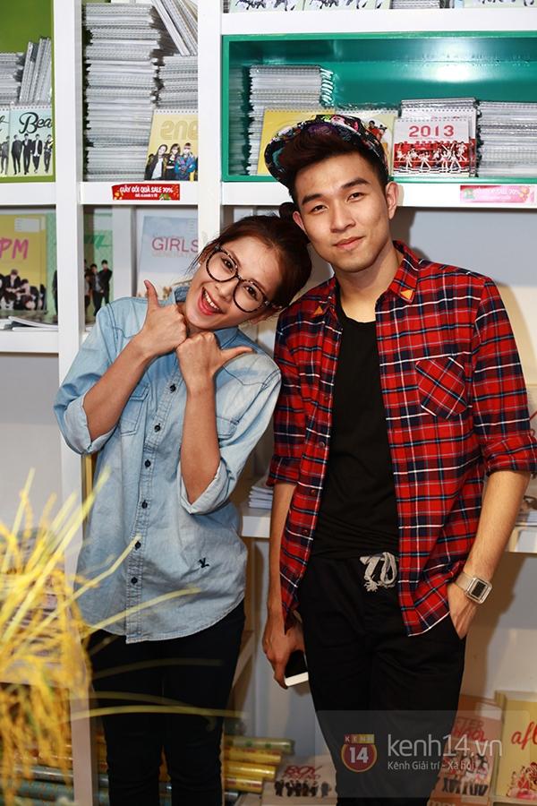 Chi Pu, Sa Lim, Quỳnh Anh Shyn thân thiết trong buổi offline của St.319 17