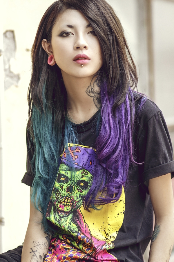 """Lee Zin - Cô gái Hà Nội cực hot vì xinh và """"dị"""" 12"""