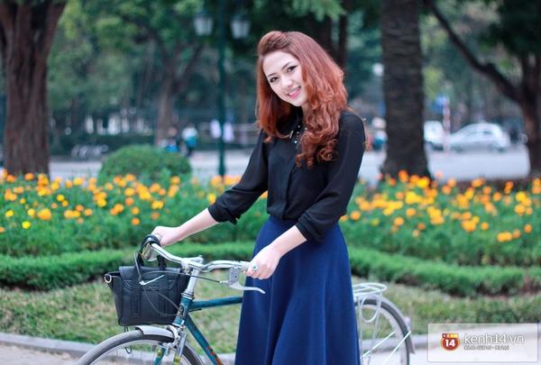 """Trang Cherry – cô gái xinh xắn """"làm nghệ thuật nhưng không cần nổi tiếng"""" 4"""
