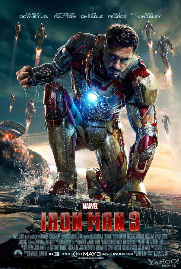 """""""Iron Man 3"""" ra mắt trước Mỹ 1 tuần 1"""