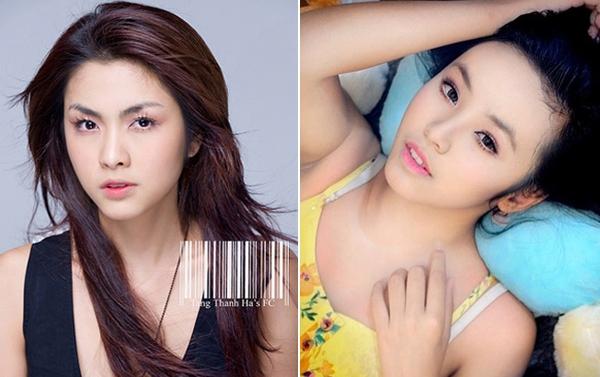 Hai hot girl Việt xinh đẹp cực giống Tăng Thanh Hà 13