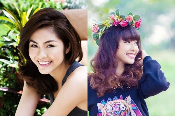 Hai hot girl Việt xinh đẹp cực giống Tăng Thanh Hà 1