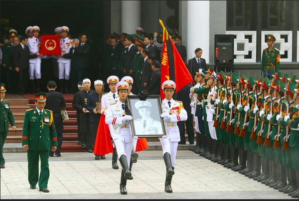 10 ngày tang lễ lịch sử của Đại tướng Võ Nguyên Giáp qua ảnh 22