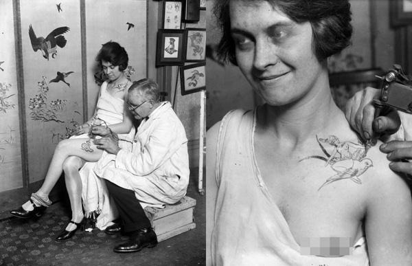 Những bức hình hiếm về hình xăm trên cơ thể phụ nữ thế kỷ 19 2