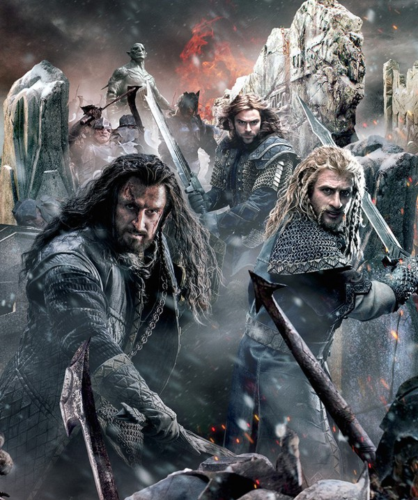 """Trận chiến đầy bi tráng của 5 cánh quân """"The Hobbit 3"""" 4"""